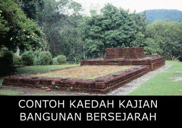 Contoh Kaedah Kajian Sejarah PT3 Bangunan Bersejarah