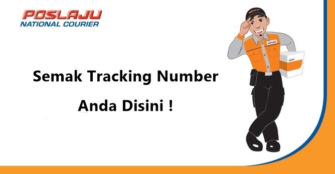 Semakan Tracking Number Pos Laju Malaysia