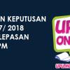 Semakan Keputusan UPU 2017 Online