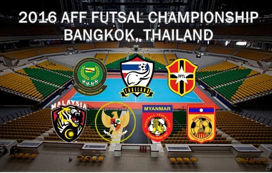 Keputusan Kejohanan Futsal AFF 2016