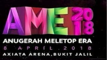 Keputusan Anugerah MeleTOP ERA 2018