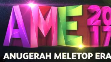 Keputusan Anugerah MeleTOP ERA 2017 (AME) Senarai Pemenang