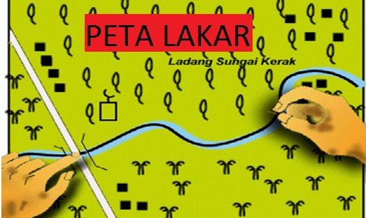 Contoh Jawapan Kerja Kursus Geografi PT3 2017 Peta Lakar