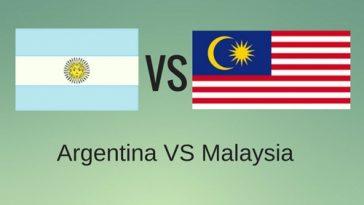 Live Streaming Keputusan Argentina vs Malaysia