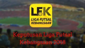 Keputusan Liga Futsal Kebangsaan 2018