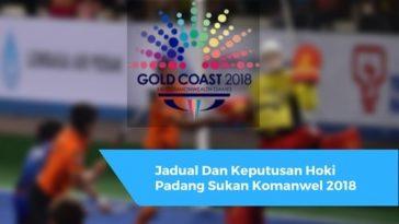 Jadual Dan Keputusan Hoki Padang Sukan Komanwel 2018